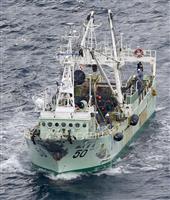 青森沖で不明13人捜索続く 貨物船沈没、海自災害派遣