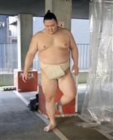 朝乃山「やるしかない」 無観客開催の大相撲春場所へ