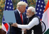 トランプ氏を熱烈歓迎したインド 日本との連携鮮明に