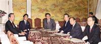 首相が野党党首に協力要請 新型コロナ、特措法改正で