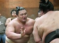 大相撲春場所8日初日 大関とりの朝乃山は2日目に徳勝龍戦 「胸を借りるつもりでいきたい…