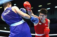 ミドル級森脇が2回戦敗退 ボクシング東京五輪予選