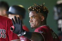 ダイヤモンドバックスのリーバ内野手が80試合出場停止、筋肉増強薬物の陽性反応