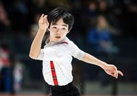 鍵山「北京五輪を狙う」 フィギュア世界ジュニア2位