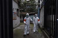 中国の新感染者44人、日本の増加ペース下回る
