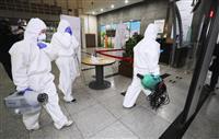 新型コロナ 韓国の感染者7478人に 死者51人