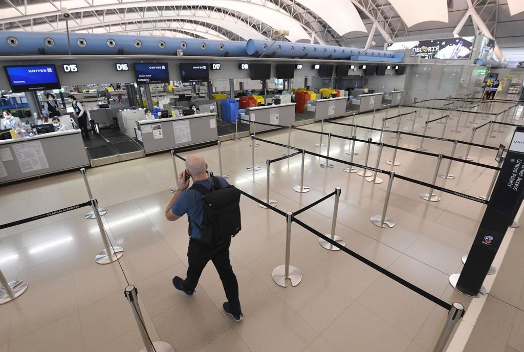 中国、韓国便95%減 関西空港 欧米路線にも波及