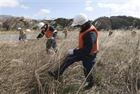 被災地沿岸で大規模捜索 震災9年、岩手と福島