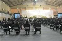 宮城県東松島市で追悼式 県内の沿岸市町で唯一の式典開催