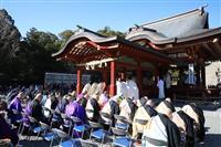 神道・仏教・キリスト教で合同の祈り 東日本大震災 鶴岡八幡宮で祈願祭