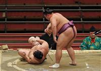 白鵬、朝乃山が4連勝 貴景勝は2敗目 大相撲春場所