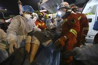 新型コロナ隔離施設の倒壊、死者26人に 中国、残る3人捜索