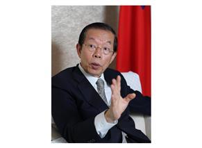防疫で地理的空白を生むな、台北駐日経済文化代表処代表・謝長廷