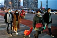 """湖北省の新たな感染者8人、1月17日以降で初の1桁 中国国内の""""収束""""強調"""