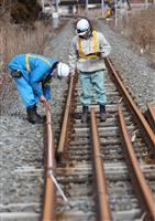 【聖火は照らす 東日本大震災9年】(4)三陸鉄道「五輪の象徴」運ぶ 2度の試練乗り越え