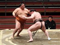 白鵬が全勝対決制し首位 1敗は朝山ら5人 大相撲春場所
