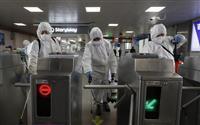 新型コロナ 韓国の感染者8086人に 死者72人 感染増加数は鈍化傾向