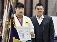 小川が優勝し全日本へ 柔道の東京都選手権