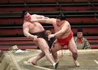 阿武咲、憧れの白鵬から初勝利 大相撲春場所