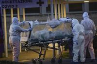 イタリア死者2千人超える 感染者、3日で1万人増