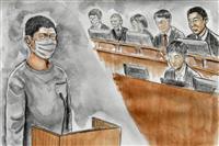 広島高2刺殺、無職男に無期懲役 広島地裁「身勝手極まりない」