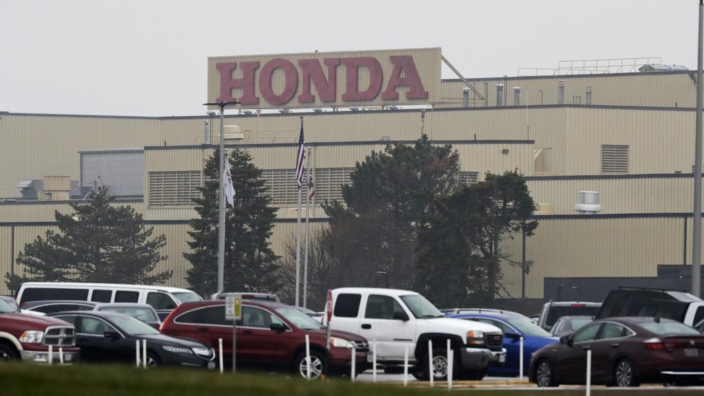 ホンダの北米工場=18日、オハイオ州メアリーズビル(AP)