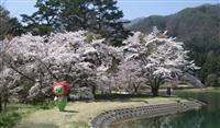 【がんばろう信州!アルクマだより】(6)春はお花がいっぱい♪ アルクマも元気をもらって…