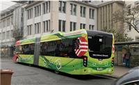 【松本真由美の環境・エネルギーDiary】ドイツ市街を走る大型電気バス 環境にやさしい…