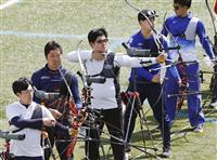 古川、早川ら最終日へ アーチェリー五輪代表選考会