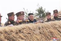 北の弾道ミサイルは約410キロ飛行 韓国軍が分析