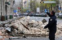 クロアチアでM5・4 首都で建物損壊