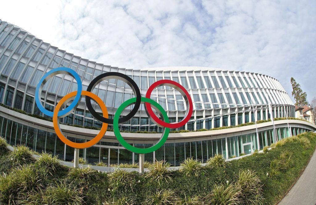 国際オリンピック委員会(IOC)=17日、スイス・ローザンヌ(ロイター)