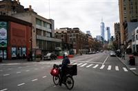 NY、感染1万5千人超え 州知事「最終的に40~80%が感染可能性」