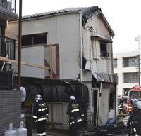 和歌山市で喫茶店全焼、84歳女性死亡