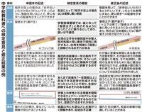 「台湾」の文字、フォント修正 中国に配慮? 中学教科書検定