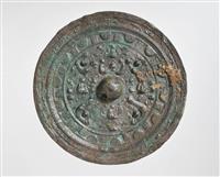 里古墳から出土の青銅鏡・画文帯神獣鏡 加古川市の指定文化財に