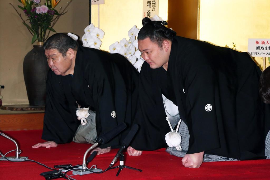 「大関」朝乃山、25日に誕生 角界背負う筆頭候補