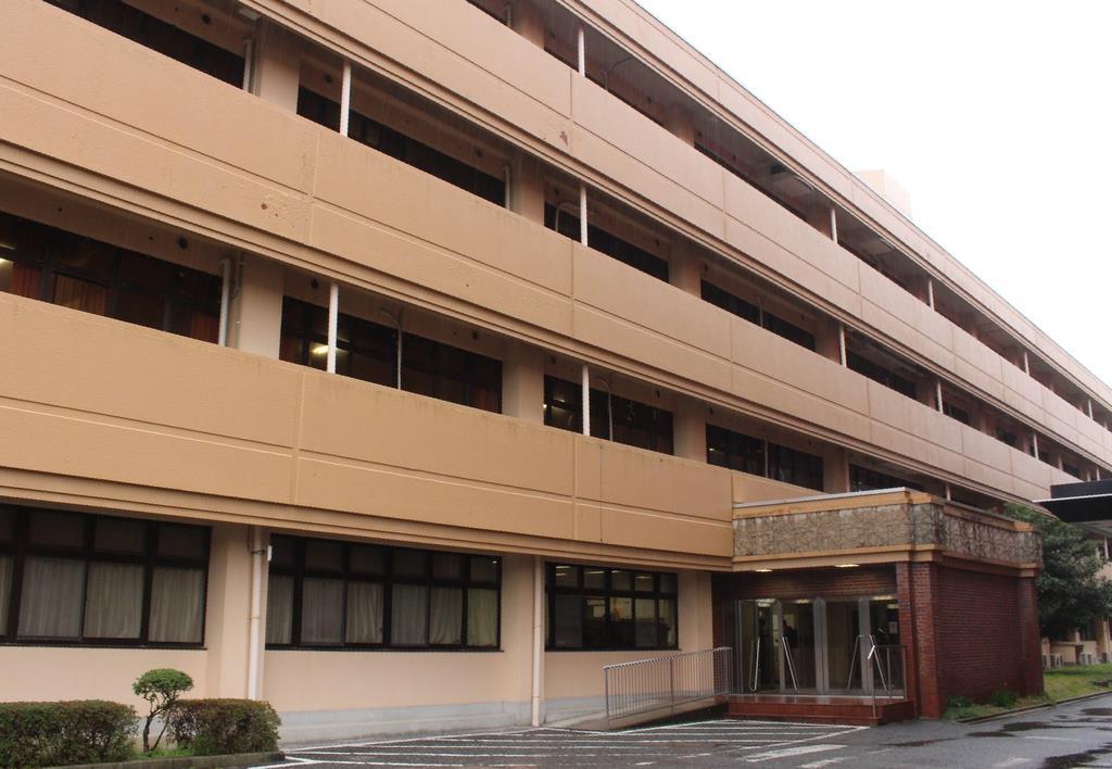 看護師らが勤務していた神出病院=3月4日、神戸市西区