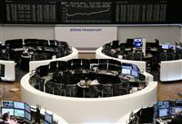 欧州株、大幅反発 英独とも08年以来の上昇率