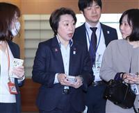 延期「2年以上はかけ離れる」 橋本五輪相、政局「関係ない」