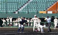 高校野球に球音戻る 春季沖縄大会が無観客で開幕