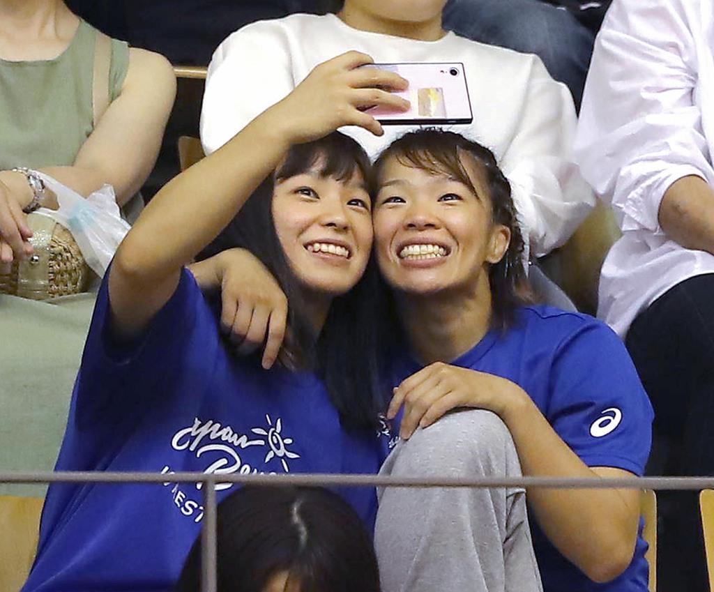 レスリング川井姉妹「五輪のため一日一日準備するだけ」