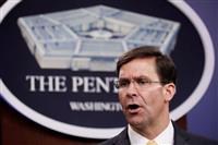 沈静化まで「数カ月の計画必要」 米国防長官