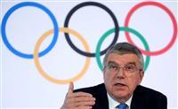 「前例ない危機を克服し人類の祝祭に」 IOCバッハ会長が表明