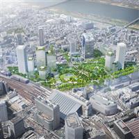 大阪駅北側の大型開発「うめきた2期」、4月に都市計画決定へ