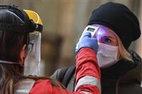 イタリア死者7千、感染7万超に 1日の確認数は減少傾向
