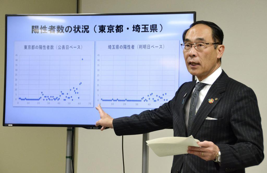 外出自粛要請「東京だけでは効果限定的」 埼玉・大野知事、首都…