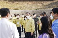 文大統領支持が5割超え 韓国、新型コロナ対応を評価