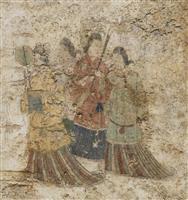 高松塚古墳壁画の修復完了 文化庁、保存・展示施設検討へ