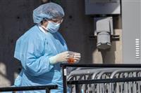 米国の新型コロナ感染者が世界最多に 8万人超、中国抜く